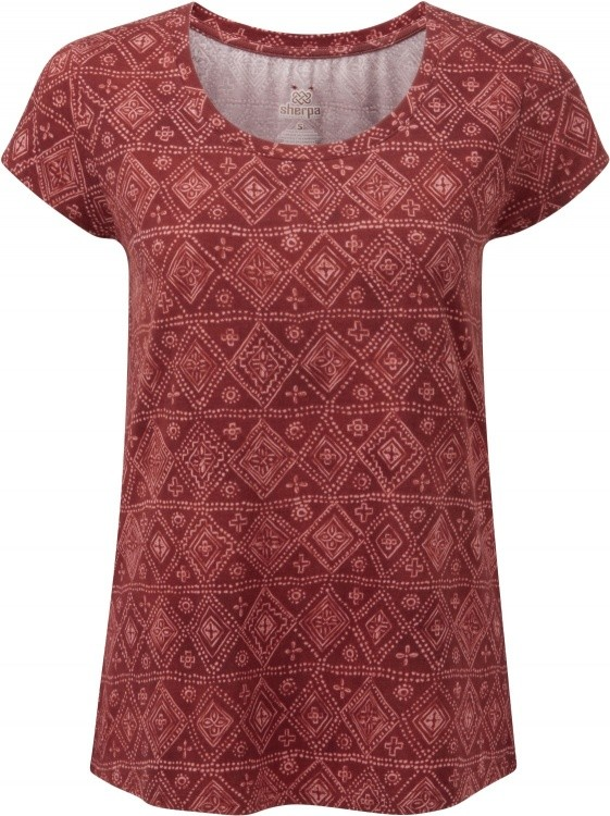 Sherpa Adventure Gear Kira Tee Women Sherpa Adventure Gear Kira Tee Women Farbe / color: clay red ()