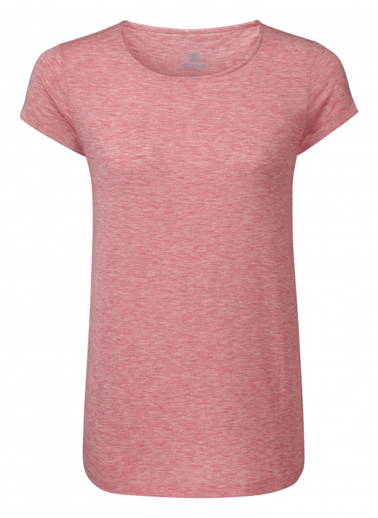 Sherpa Adventure Gear Asha Short Sleeve Tee Women Sherpa Adventure Gear Asha Short Sleeve Tee Women Farbe / color: golbera pink ()