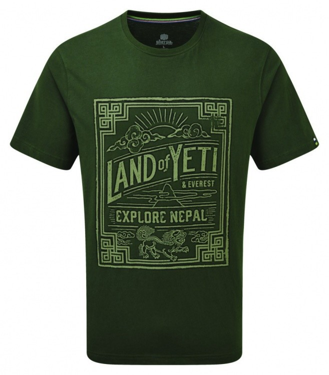 Sherpa Adventure Gear Yeti Tee Sherpa Adventure Gear Yeti Tee Farbe / color: mewa green ()