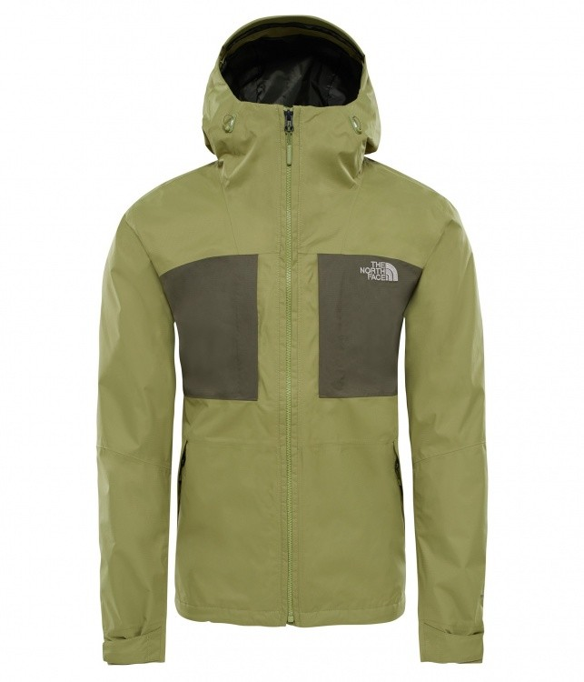 The North Face Mens Purna 2L Jacket The North Face Mens Purna 2L Jacket Farbe / color: iguana green/grape leaf ()