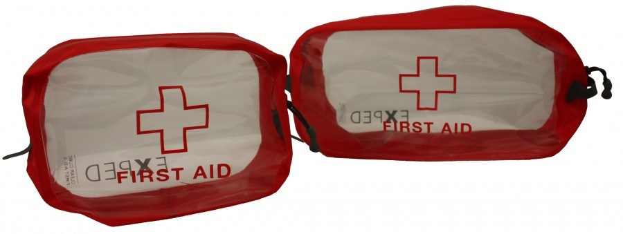 Exped Clear Cube First Aid Exped Clear Cube First Aid Farbe / color: red ()