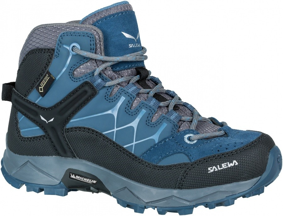 SALEWA Junior Alp Trainer Mid GTX SALEWA Junior Alp Trainer Mid GTX Farbe / color: dark denim/charcoal ()