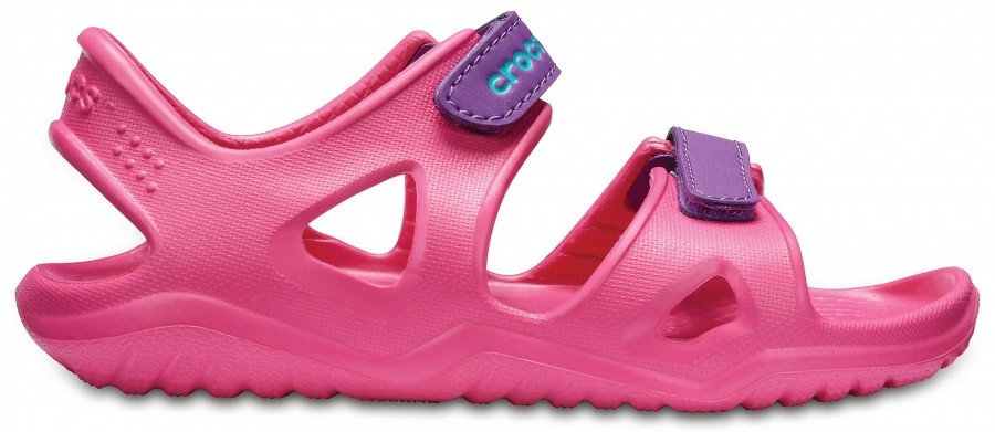 Crocs Kids Swiftwater River Sandal Crocs Kids Swiftwater River Sandal Farbe / color: paradise pink/amethyst ()