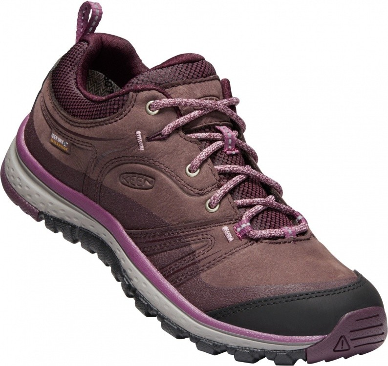 Keen Womens Terradora Leather WP Keen Womens Terradora Leather WP Farbe / color: peppercorn/wine tasting ()