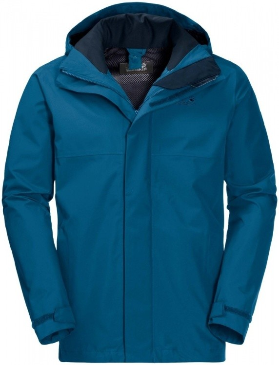 Jack Wolfskin Seven Peaks Jacket Men Jack Wolfskin Seven Peaks Jacket Men Farbe / color: glacier blue ()