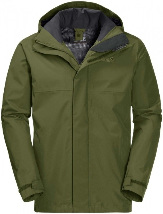 Jack Wolfskin Seven Peaks Jacket Men Jack Wolfskin Seven Peaks Jacket Men Farbe / color: cypress green ()