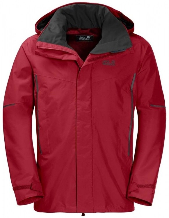 Jack Wolfskin Escalente Jacket Men Jack Wolfskin Escalente Jacket Men Farbe / color: indian red xt ()