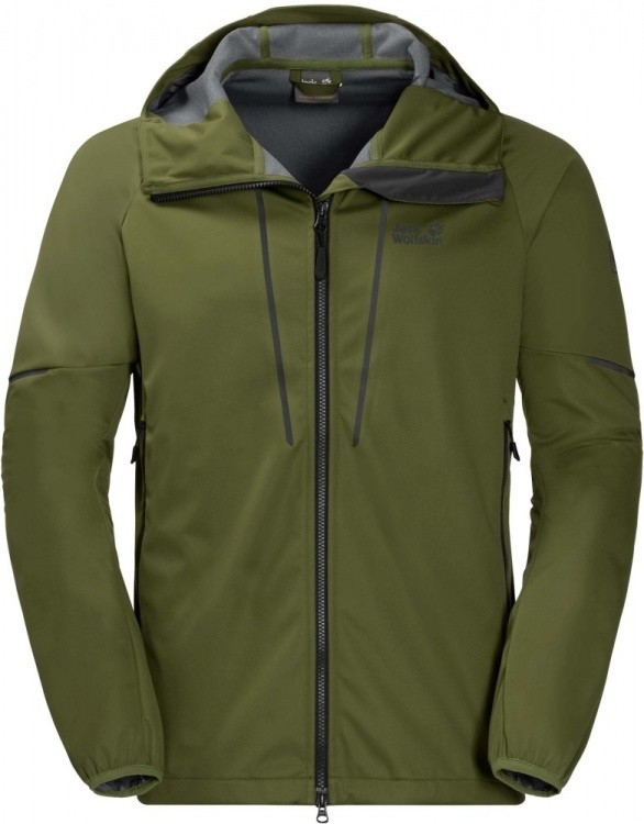 Jack Wolfskin Green Valley Jacket Men Jack Wolfskin Green Valley Jacket Men Farbe / color: cypress green ()