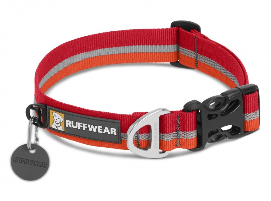 Ruffwear Crag Collar Ruffwear Crag Collar Farbe / color: kokanee red ()