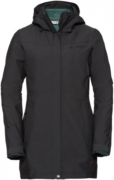 VAUDE Womens Idris 3in1 Parka II VAUDE Womens Idris 3in1 Parka II Farbe / color: phantom black ()