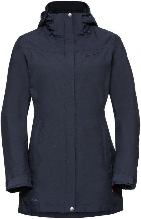 VAUDE Womens Idris 3in1 Parka II VAUDE Womens Idris 3in1 Parka II Farbe / color: eclipse ()