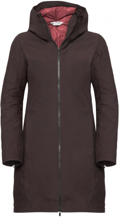 VAUDE Womens Annecy 3in1 Coat III VAUDE Womens Annecy 3in1 Coat III Farbe / color: pecan brown ()