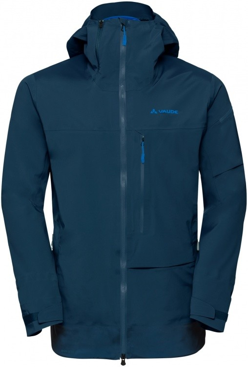 VAUDE Mens Back Bowl 3L Jacket II VAUDE Mens Back Bowl 3L Jacket II Farbe / color: baltic sea ()