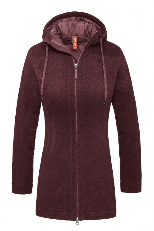 Tatonka Kemi Womens Coat Tatonka Kemi Womens Coat Farbe / color: aubergine red ()