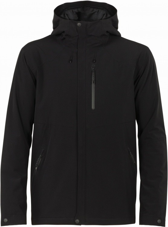 Icebreaker Stratus Transcend Hooded Jacket Icebreaker Stratus Transcend Hooded Jacket Farbe / color: black/jet heather ()