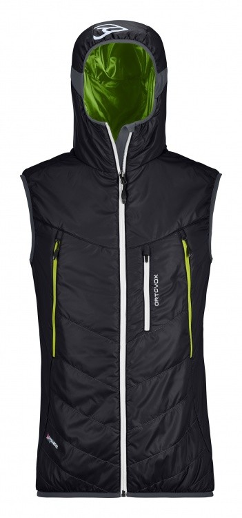 Ortovox Swisswool Light Tec Piz Boe Vest Ortovox Swisswool Light Tec Piz Boe Vest Farbe / color: black raven ()