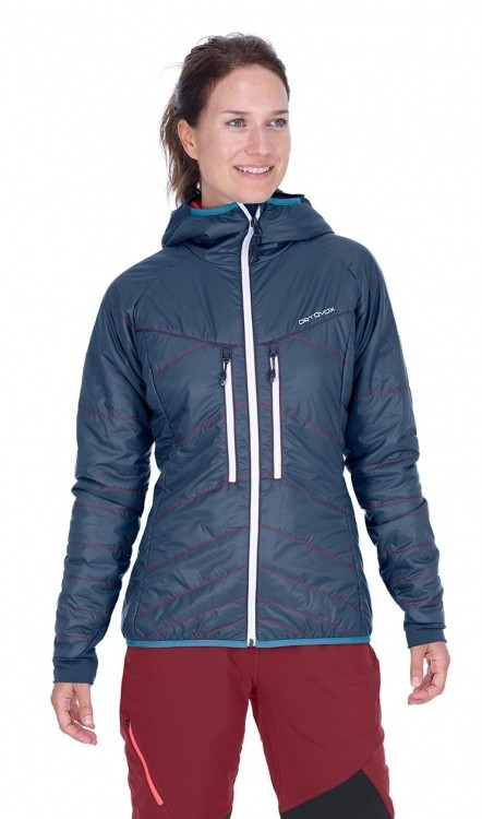 Ortovox Swisswool Light Tec Lavarella Jacket Women Ortovox Swisswool Light Tec Lavarella Jacket Women Frontansicht / front view ()