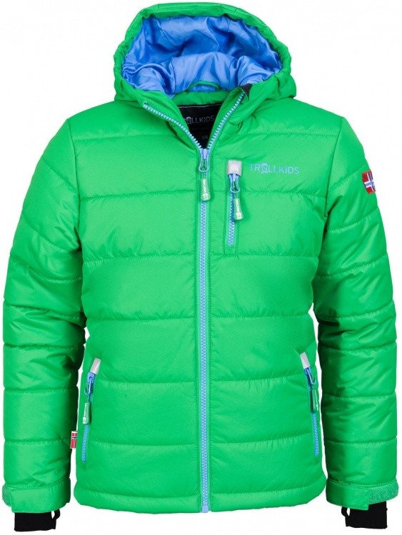 Trollkids Kids Hemsedal Snow Jacket Trollkids Kids Hemsedal Snow Jacket Farbe / color: fern green/medium blue ()