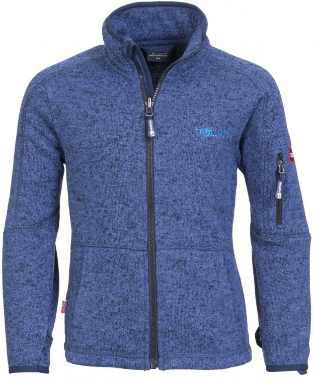 Trollkids Kids Jondalen Jacket Trollkids Kids Jondalen Jacket Farbe / color: french blue/blue ()