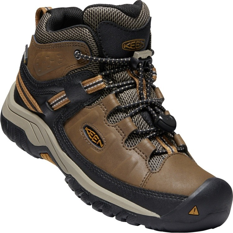 Keen Kids Targhee Mid WP Keen Kids Targhee Mid WP Farbe / color: dark earth/golden brown ()