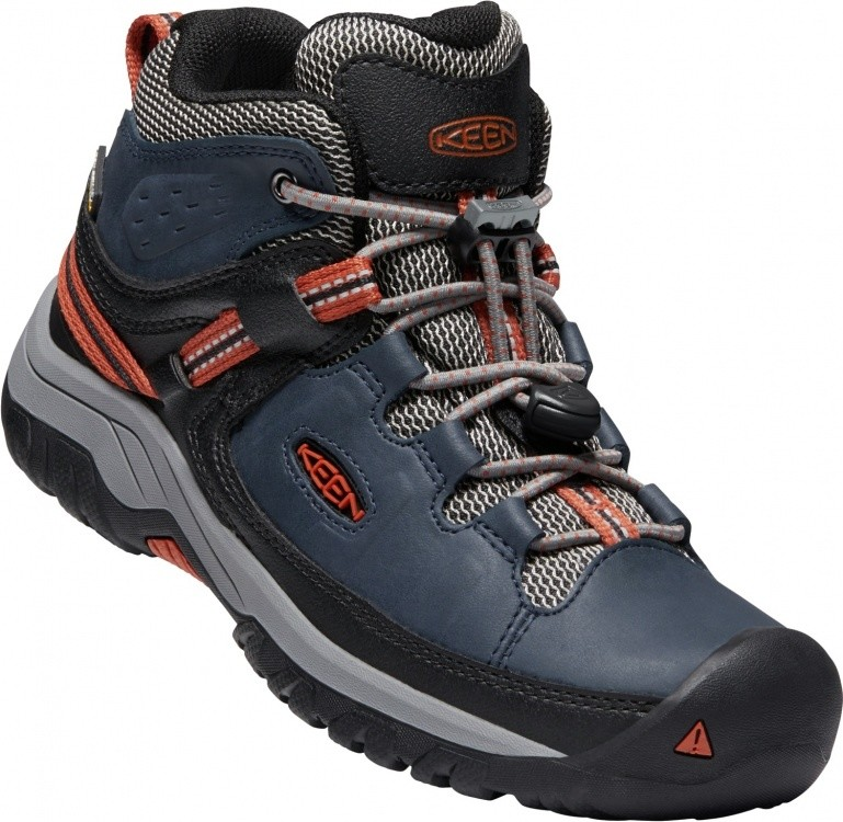 Keen Kids Targhee Mid WP Keen Kids Targhee Mid WP Farbe / color: blue nights/roobios tea ()