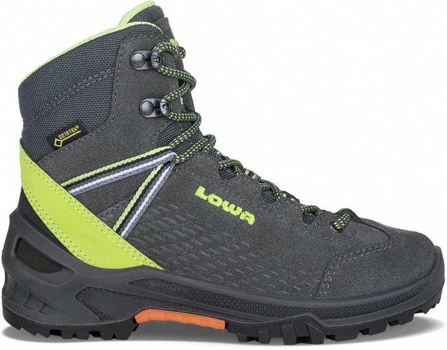 LOWA Ledro GTX MID Junior LOWA Ledro GTX MID Junior Farbe / color: anthracite/lime ()