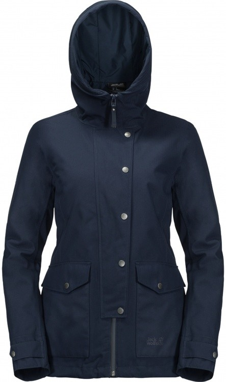 Jack Wolfskin Devon Island Jacket Women Jack Wolfskin Devon Island Jacket Women Farbe / color: midnight blue ()