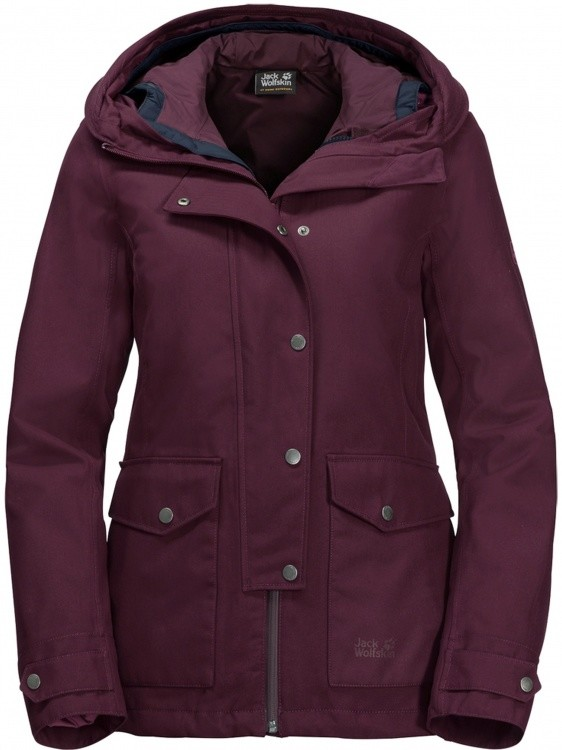 Jack Wolfskin Devon Island Jacket Women Jack Wolfskin Devon Island Jacket Women Farbe / color: burgundy ()
