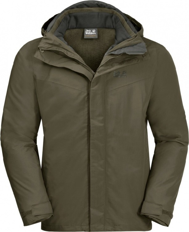 Jack Wolfskin Gotland 3in1 Jacket Men Jack Wolfskin Gotland 3in1 Jacket Men Farbe / color: granite ()