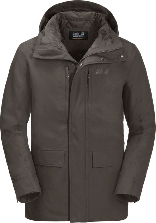 Jack Wolfskin West Coast Jacket Jack Wolfskin West Coast Jacket Farbe / color: brownstone ()
