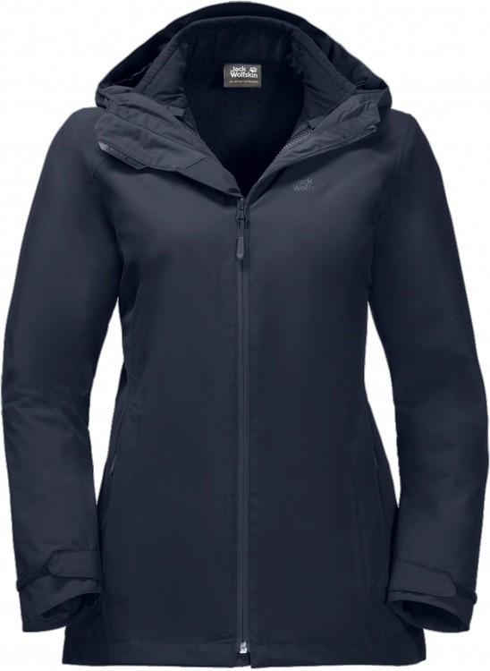 Jack Wolfskin Norrland 3in1 Jacket Women Jack Wolfskin Norrland 3in1 Jacket Women Farbe / color: midnight blue ()