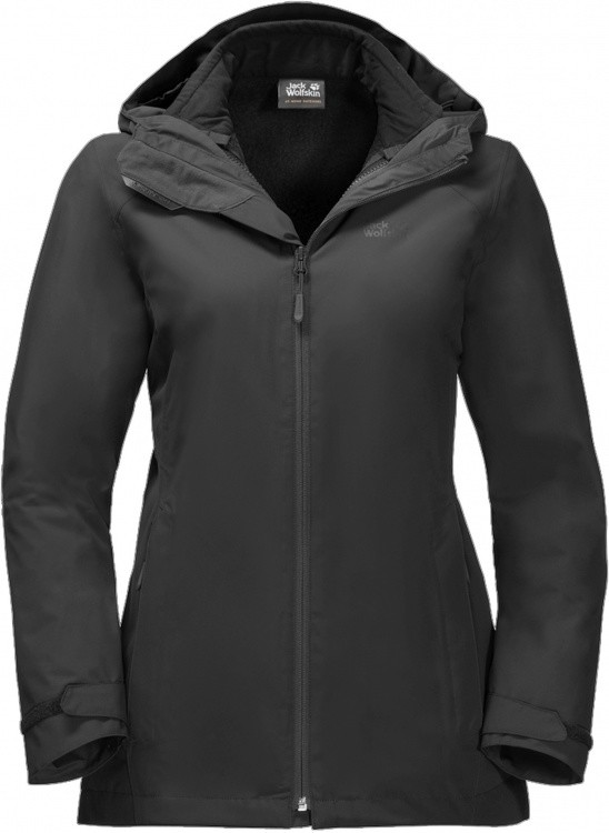 Jack Wolfskin Norrland 3in1 Jacket Women Jack Wolfskin Norrland 3in1 Jacket Women Farbe / color: black ()