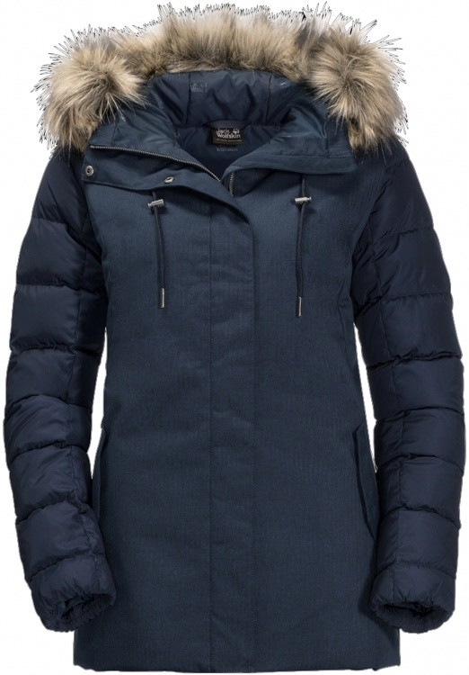Jack Wolfskin Temple Hill Jacket Women Jack Wolfskin Temple Hill Jacket Women Farbe / color: midnight blue ()