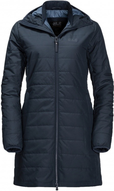 Jack Wolfskin Maryland Coat Women Jack Wolfskin Maryland Coat Women Farbe / color: midnight blue ()