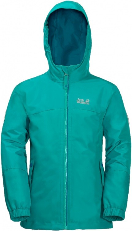 Jack Wolfskin Girls Iceland 3in1 Jacket Jack Wolfskin Girls Iceland 3in1 Jacket Farbe / color: aquamarine ()