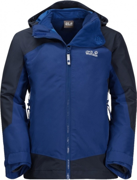 Jack Wolfskin Boys Akka 3in1 Jacket Jack Wolfskin Boys Akka 3in1 Jacket Farbe / color: sapphire ()