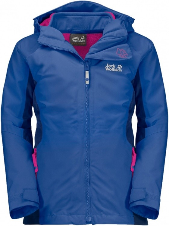 Jack Wolfskin Girls Grivla 3in1 Jacket Jack Wolfskin Girls Grivla 3in1 Jacket Farbe / color: coastal blue ()