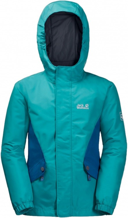 Jack Wolfskin Girls Kajak Falls Jacket Jack Wolfskin Girls Kajak Falls Jacket Farbe / color: aquamarine ()