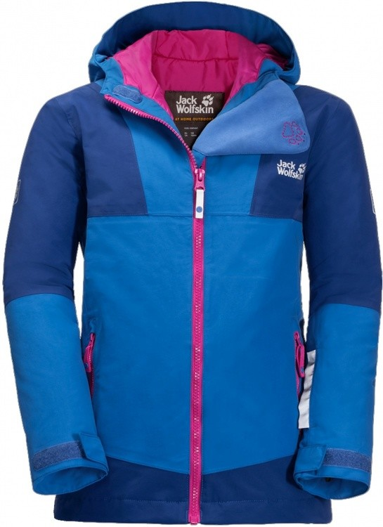Jack Wolfskin Snowsport Jacket Kids Jack Wolfskin Snowsport Jacket Kids Farbe / color: coastal blue ()