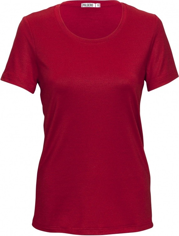 Palgero Birta T-Shirt Merino Women Palgero Birta T-Shirt Merino Women Farbe / color: rot ()