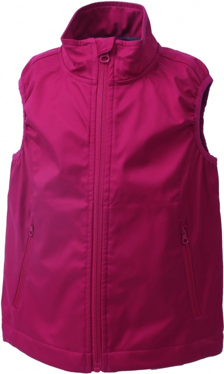 Color Kids Bajur Softshell Weste Color Kids Bajur Softshell Weste Farbe / color: raspberry ()