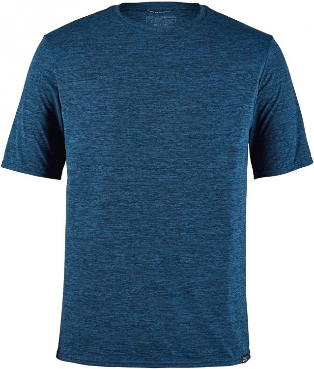 Patagonia Mens Cap Cool Daily Shirt Patagonia Mens Cap Cool Daily Shirt Farbe / color: viking blue/navy blue x-dye ()