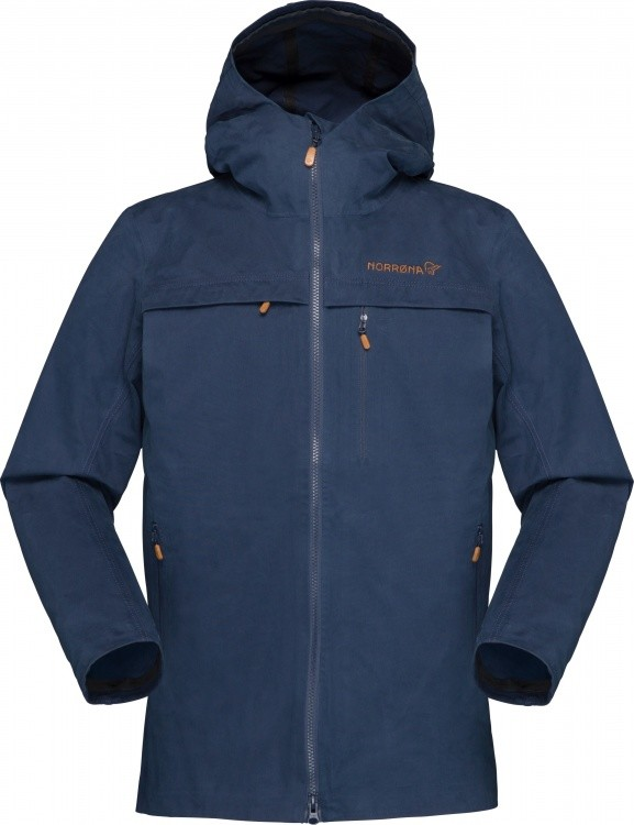 Norrona Svalbard Cotton Jacket Women Norrona Svalbard Cotton Jacket Women Farbe / color: indigo night ()
