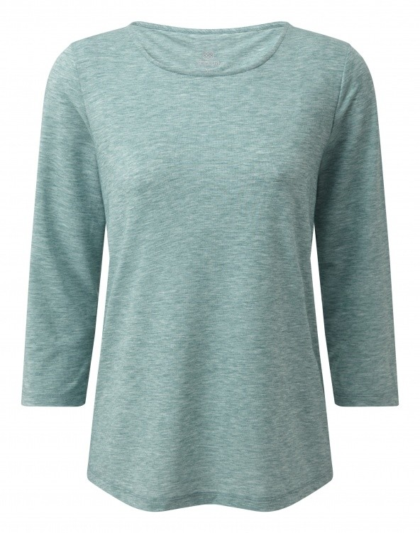 Sherpa Adventure Gear Asha 3/4 Sleeve Top Women Sherpa Adventure Gear Asha 3/4 Sleeve Top Women Farbe / color: khola green ()
