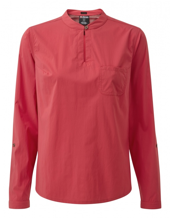 Sherpa Adventure Gear Ravi Shirt Women Sherpa Adventure Gear Ravi Shirt Women Farbe / color: golbera pink ()