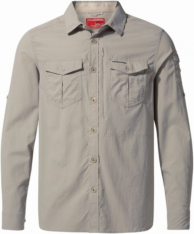Craghoppers NosiLife Adventure II Long Sleeved Shirt Craghoppers NosiLife Adventure II Long Sleeved Shirt Farbe / color: parchment ()