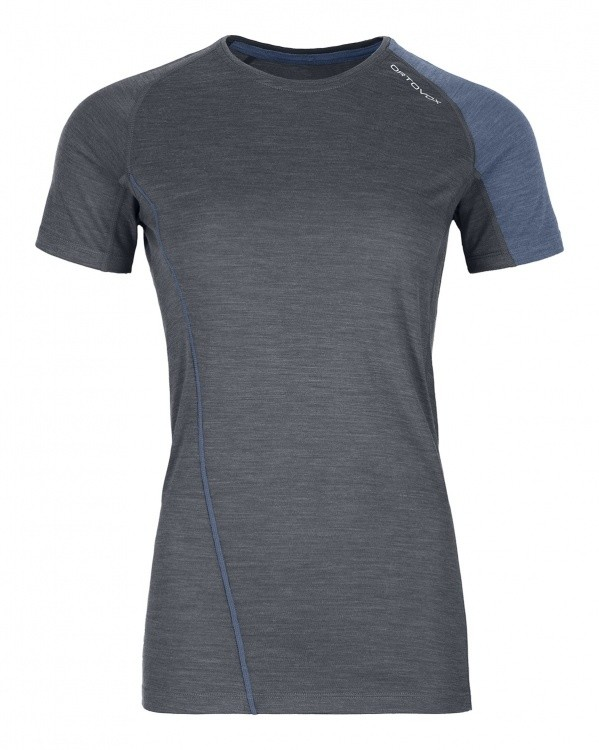 Ortovox Merino Cool Tec Fast Forward T-Shirt Women Ortovox Merino Cool Tec Fast Forward T-Shirt Women Farbe / color: black steel blend ()
