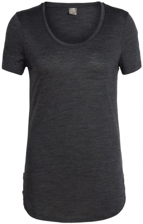 Icebreaker Solace SS Scoop Women Icebreaker Solace SS Scoop Women Farbe / color: black heather ()