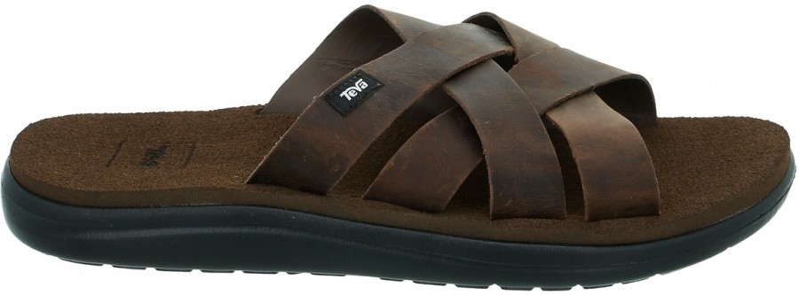 Teva Voya Slide Leather Men Teva Voya Slide Leather Men Farbe / color: carafe ()