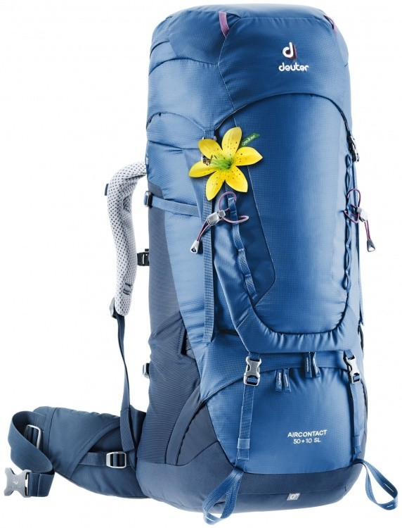 Deuter Aircontact 50+10 SL Deuter Aircontact 50+10 SL Farbe / color: steel-midnight ()